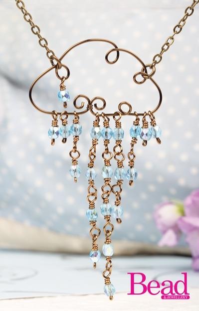 rainy days necklace