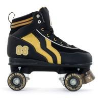 Rio Roller Varsity Roller Skates Limited Edtion! Black & Gold - Size 11 - SALE