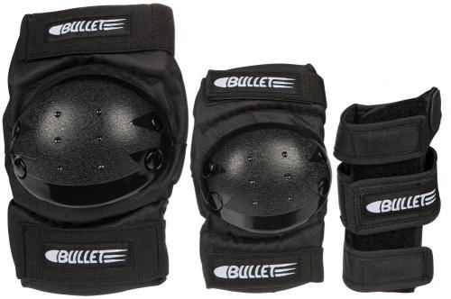 Bullet Combo Deluxe Padset - Knee, Elbow & Wrist Guards