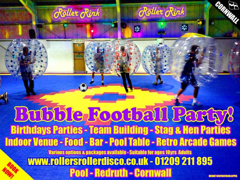 zorb bubble football cornwall 2