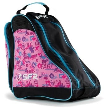 SFR Roller Skate Carry Bag - Pink Graffiti