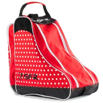 SFR Roller Skate Carry Bag - Red Polka Dot