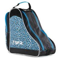 SFR Roller Skate Carry Bag - Blue Leopard