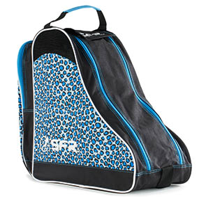 SFR Roller Skate Carry Bag - Blue Leopard