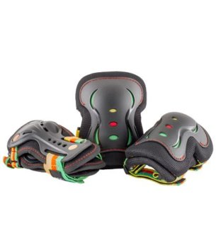 SFR Junior Triple Safety Pad Set - Guava