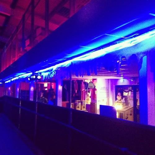 roller rink neon