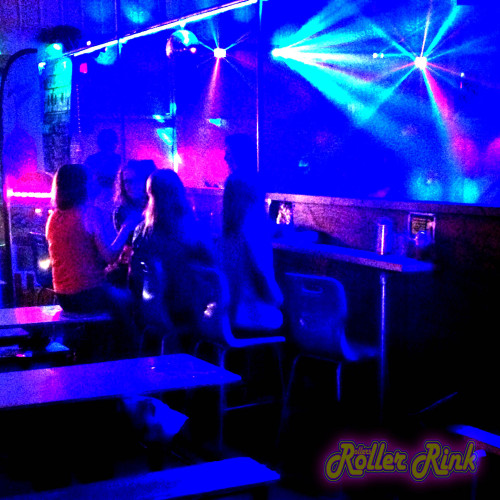 rinkside bar at the roller rink cornwall