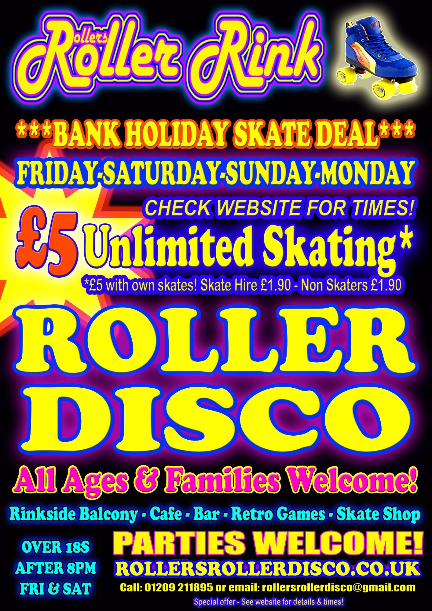 Whitsun Bank Holiday Roller Disco
