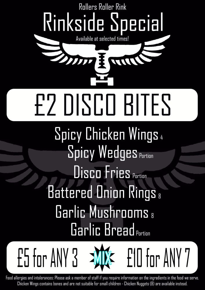Disco Sides Menu