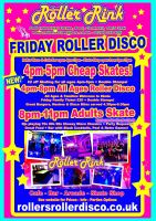 Friday Roller Disco 4pm-11pm