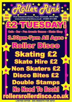 £2 Tuesday Roller Disco Special