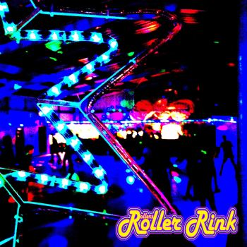 neon roller disco skaters at rollers roller rink cornwall - copy