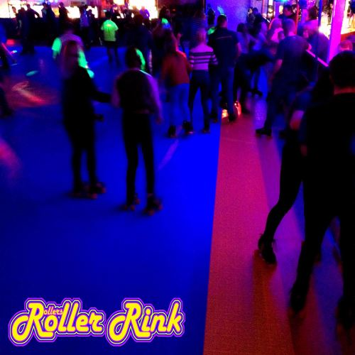 skaters at rollers roller rink cornwall