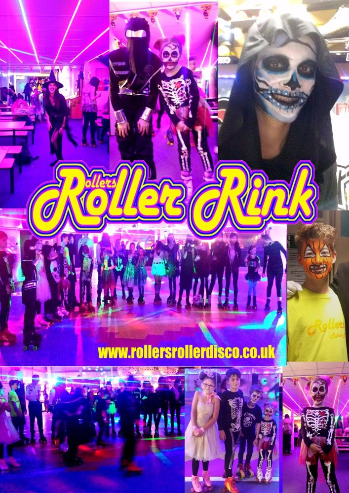 halloween at rollers roller rink cornwall