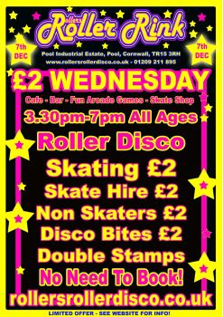 £2 Wednesday Roller Disco Special