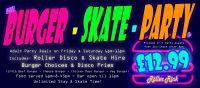 Burger Skate Party Cornwall
