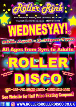 Wednesday Roller Disco April 2017 2