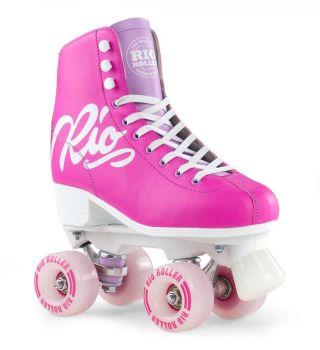 Rio Roller Script Roller Skates Pink/Lilac - SALE £10 OFF