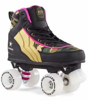 Rio Roller Camo Roller Skates - Limited Edition - Ex Display SALE