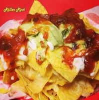 Nachos at the Roller Rink! Cornwall