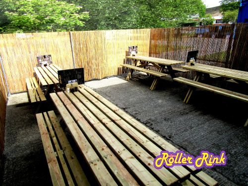 Outdoor Seating at the Rink
