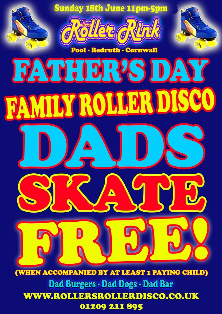 Fathers Day Dads Free Skate 2017