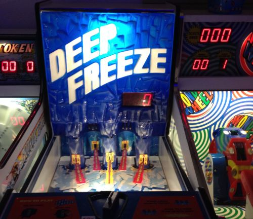 Deep Freeze at the Rink Cornwall