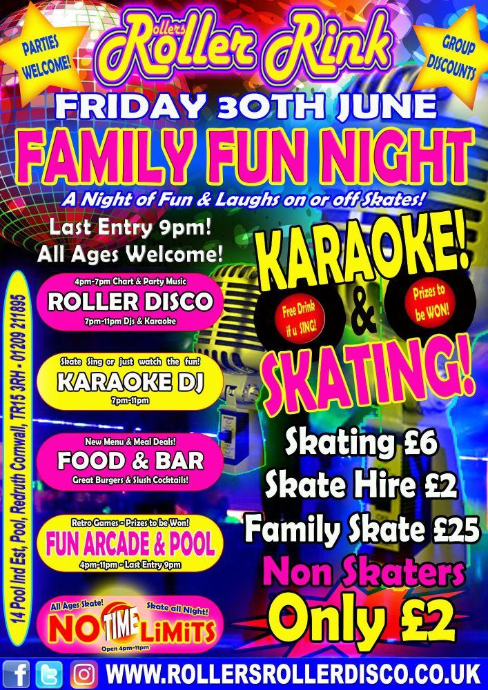 Karaoke Poster 30th June