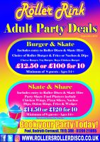 Adult Roller Disco Party Deals