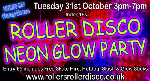 Neon Glow Party Tuesday 31st October