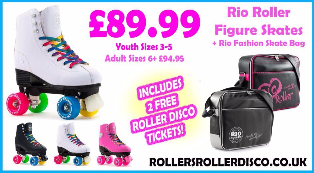 Rio Roller Figure Skates and Fashion Bag