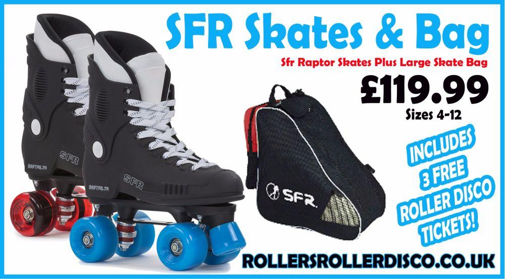 Sfr Raptor Skates Plus Large Skate Bag