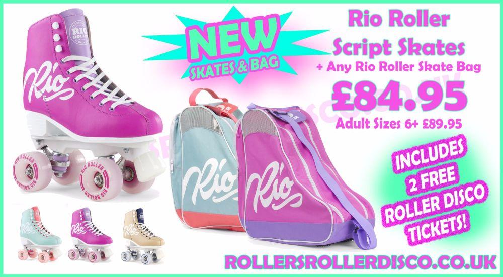 Rio Roller Script Roller Skates Bag Deal 1