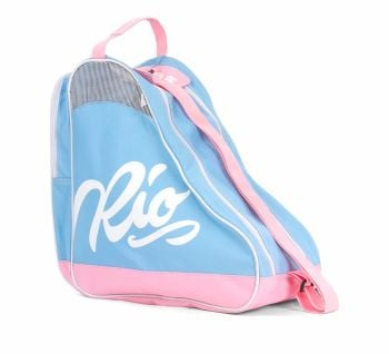 Rio Roller Script Skate Carry Bag Blue-Pink