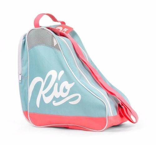 Rio Roller Script Skate Carry Bag Blue-Pink