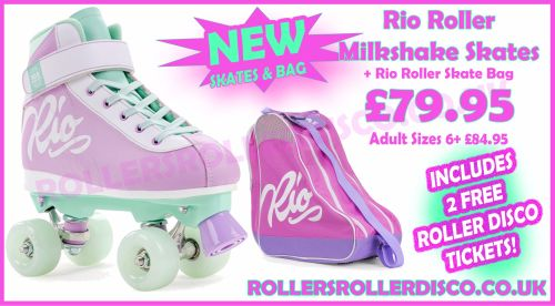 Rio Script Roller Skates & Bag Deal