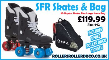 SFR Raptor Skates & Large Skate Bag Deal