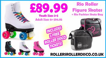 Rio Roller Figure Skates & Fashion Skate Bag Deal