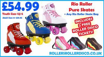 Rio Roller Pure Skates & Rio Skate Bag Deal