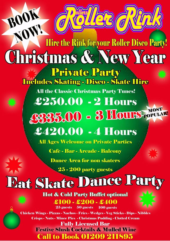 Christmas Private Party Deals 2017