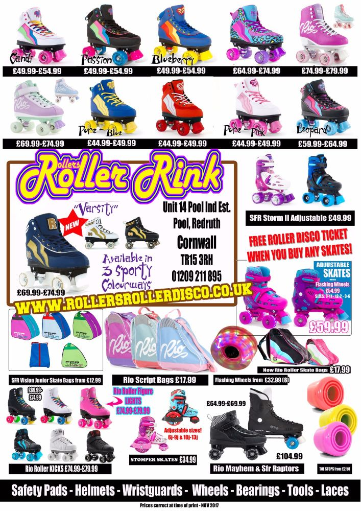 Roller Skate Shop Cornwall