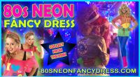 80s Neon Fancy Dress