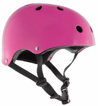 SFR Skate Helmet Gloss Fluro Pink XXS-XL - Ex Display Sale