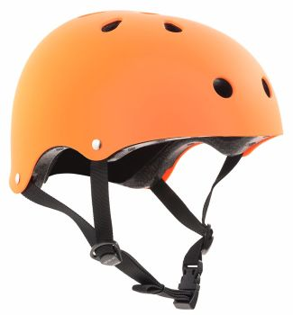 SFR Skate Helmet Matt Orange XXS-XL