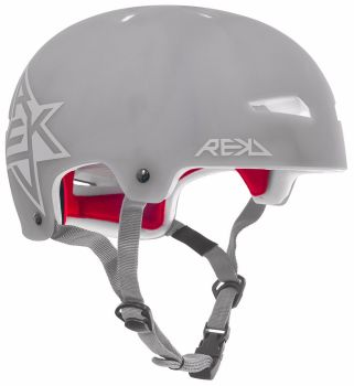 REKD Elite Icon Semi-Transparent Helmet Grey