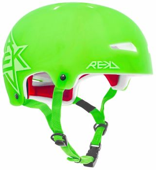 REKD Elite Icon Semi-Transparent Helmet Green