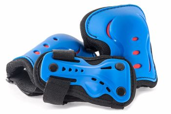 SFR Junior Triple Safety Pad Set - Blue
