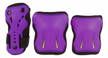 SFR Junior Triple Safety Pad Set - Purple