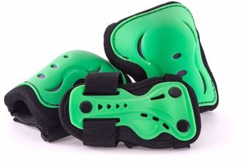 SFR Junior Triple Safety Pad Set - Green