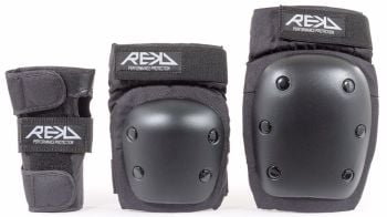 REKD Heavy Duty Adult Pad  Set - Knee, Elbow & Wrist Guards